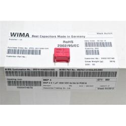 德國WIMA電容器/MKP4/0.1uF/1000V/15mm