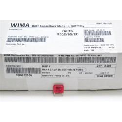德國WIMA電容器/MKP4/0.1uF/250V/10mm