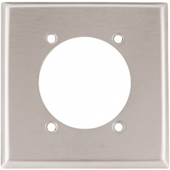 美國 COOPER  93223 單聯單孔大電流白鐵蓋板