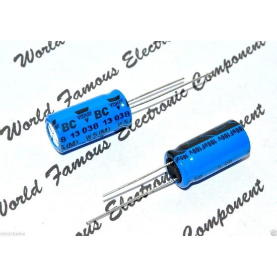 BCcomponents電解電容/038/100uF/100V/5mm