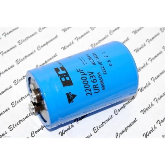 BCcomponents/101/22000uF/63V/鎖螺絲/電解電容