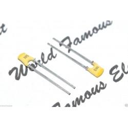 PHILIPS銀膜電容/1500P/100V/2.5mm/YL/1顆1標