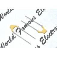 PHILIPS銀膜電容/4.7P(4P7)/100V/5mm/YL/1顆1標