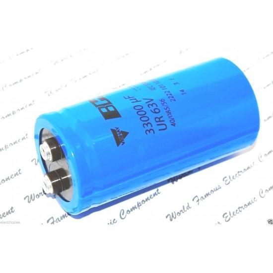 BCcomponents/101/33000uF/63V/鎖螺絲/電解電容
