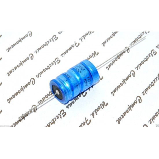 BCcomponents電解電容/118/220uF/100V/30mm