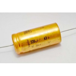 德國ROE臥式無極性電解電容(BP/NP)/220uF/63V