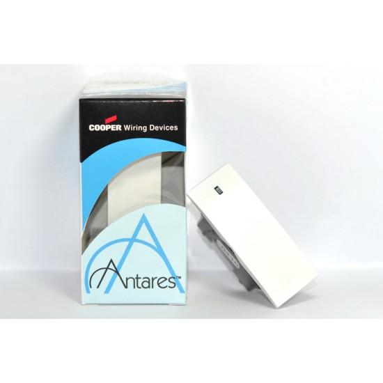 [特價中] 美國COOPER Antares 30111 電源開關 (單開三路) 白色