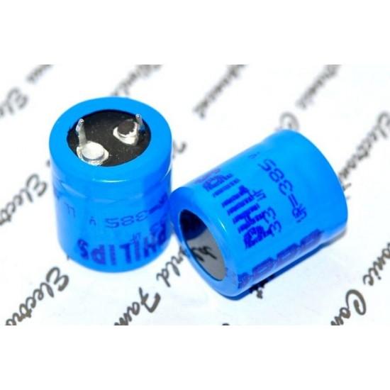 BCcomponents電解電容/059/33uF/385V/22*25mm 腳距:10mm