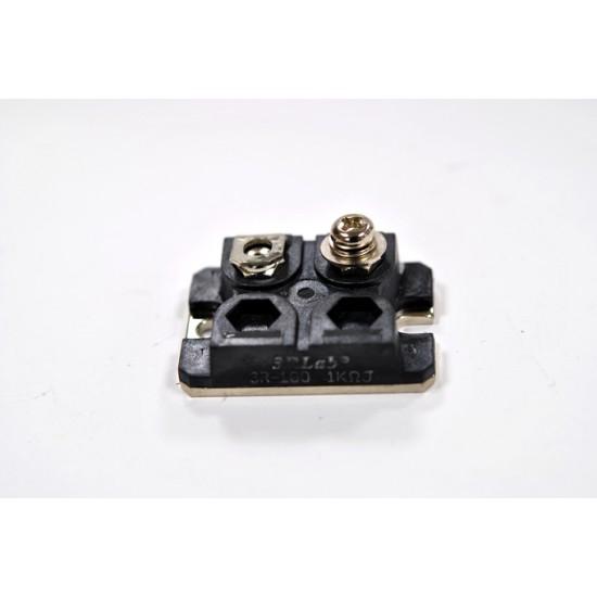 3RLab高頻高壓無感電阻 3R-100 1K 5% 100W