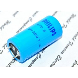 BCcomponents電解電容/059/470uF/200V/25*50mm 腳距:10mm
