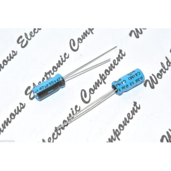 BCcomponents電解電容/038/47uF/35V/5*11mm 腳距:2.5mm