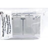 美國 COOPER S1952 插座保護蓋板 防水防塵 單聯 塑膠製 (DUPLEX型)