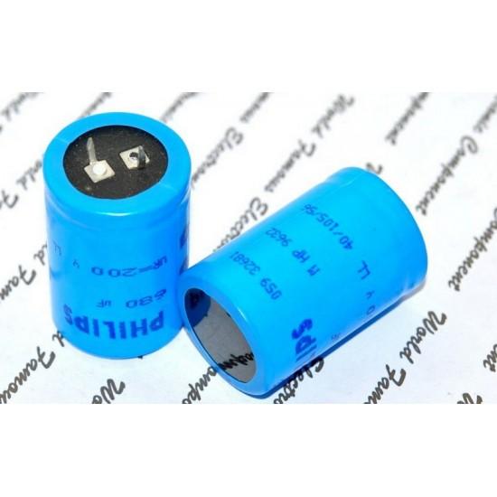 BCcomponents電解電容/059/680uF/200V/10mm