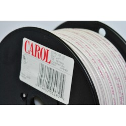 CAROL線材 05482 Thermostat Wire 105ºC UL Type CL2 20AWG 單蕊2芯  (1公尺)