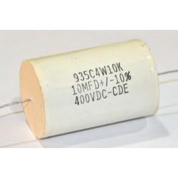 美國CDE金屬膜電容器/935/10uF/200V/10%
