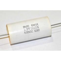 美國CDE金屬膜電容器/942/0.022uF/2000V /10%