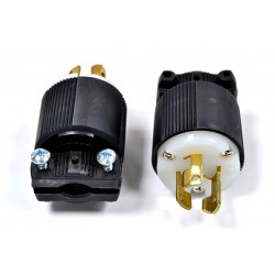 美國 COOPER 防鬆插頭 CWL515P NEMA L5-15 (等同HUBBELL HBL4720C)