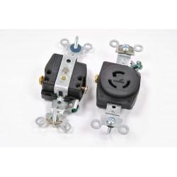 美國COOPER 防鬆插座 CWL515R NEMA L5-15 (等同HUBBELL HBL4710)