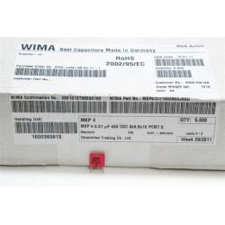 德國WIMA電容器/MKP4/0.01uF/400V/7.5mm