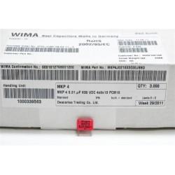 德國WIMA電容器/MKP4/0.01uF/630V/10mm