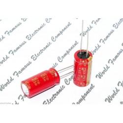 日本 ELNA 音響精品 立式電解電容 早期音響專用 /470uF/25V/D12L25d7.5