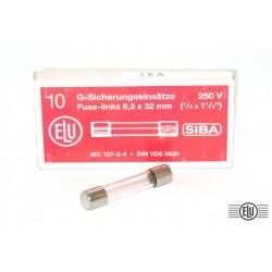 ELU保險絲/F/1.6A 6.3x32(mm)
