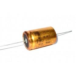 德國ROE臥式無極性電解電容(BP/NP)/100uF/63V