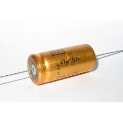 德國ROE臥式無極性電解電容(BP/NP)/47uF/63V