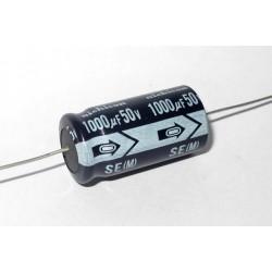 日本NICHICON臥式電解電容/1000uF/50V/D15L30(mm)