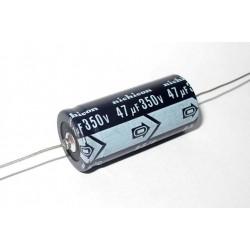日本NIPPON臥式電解電容/47uF/350V/D18L40(mm)