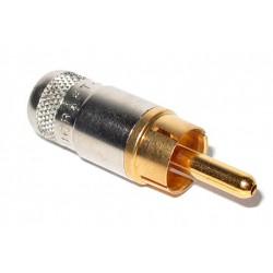 Switchcraft PHONO RCA頭 軍規鍍金 (RF) 同軸影像使用(橡膠)