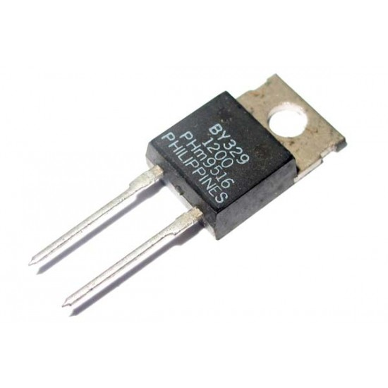 1 x PHILIPS BY329-1200 Rectifier Diode - TO-220 二極體