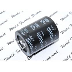 NIPPON SMH 15000uF 50V 牛角型電解電容ESMH500VSN153MA45S