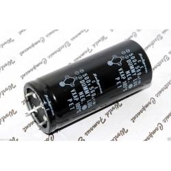 RUBYCON 560uF 500V 4-Pin DUMMY LUG PET NEG 牛角電容