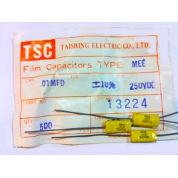 TSC 臥式金屬膜電容/MEE/0.01uF/250V/10%