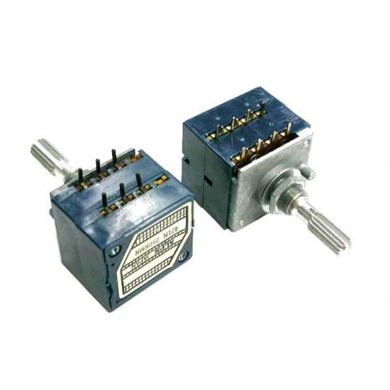 ALPS音量用VR/250KA/多齒型/RK27/雙聯