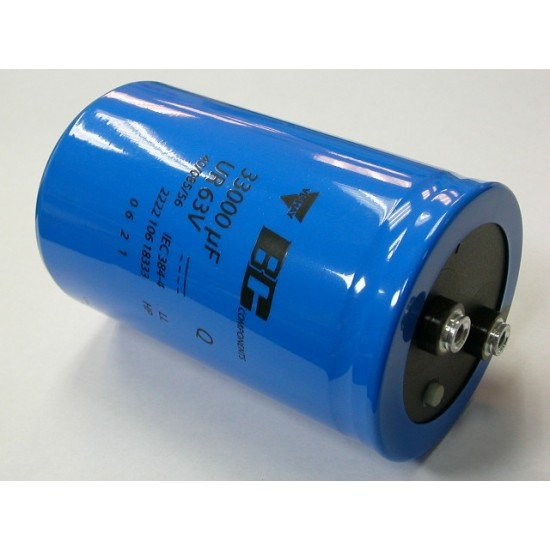 BCcomponents電解電容/106/33000uF/63V