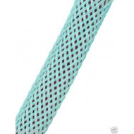 1公尺-美國Techflex PTN0.25AQ (6.4mm) 套管(隔離網/編織網)  湖水藍色