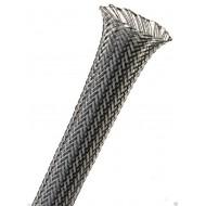 1公尺-美國Techflex PTN0.38CB (9.5mm) 套管(隔離網/編織網)  鐵灰色