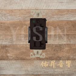 美國 EATON COOPER  AH8300B 20A 125V 咖啡色 醫療級插座  節能省電 最安全 DUPLEX型 【台灣唯一獨家代理】