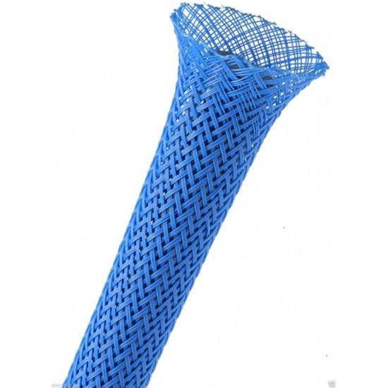 1公尺-美國Techflex PTN0.13NB (3.3mm)  套管(隔離網/編織網)  亮藍色