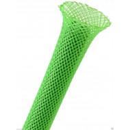 1公尺-美國Techflex PTN0.25NG (6.4mm) 套管(隔離網/編織網)  亮綠色