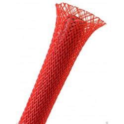 1公尺-美國Techflex PTN0.50RD (12.7mm) 套管(隔離網/編織網) 紅色