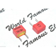 德國 WIMA FKP2 100P (100pF 0.1nF) 100V 2.5% 腳距:5mm Capacitor 金屬膜電容器
