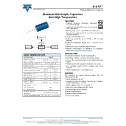 BCcomponents 118 6800uF 16V 125°C 臥式電解電容 21x38mm