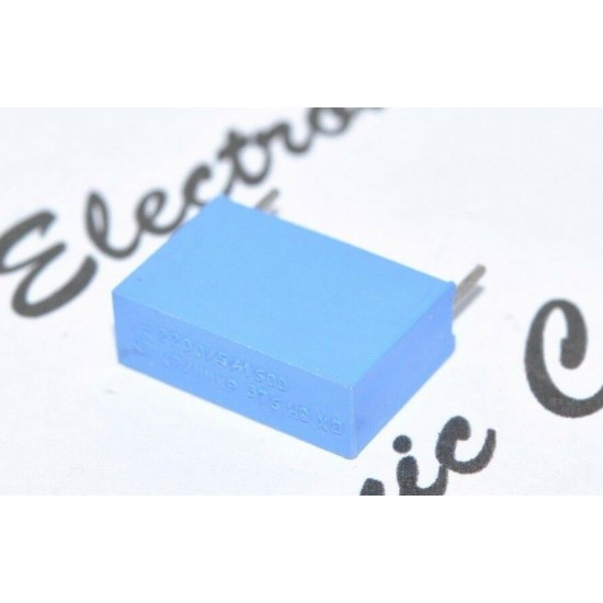 1個 - PHILIPS MKP376 2200P 1600V 15mm 金屬膜電容