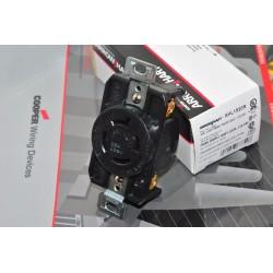 美國COOPER AHL1520R NEMA L15-20R 20A 250V Twist-Lock 防鬆插座