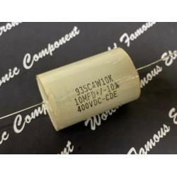 美國CDE 935C系列 10uF 400V 10% 935C4W10K 金屬膜電容器 x 1