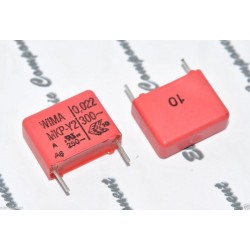 德國WIMA MKP-Y2 0.022uF 300V AC 10% 腳距:15mm Y2/RF 金屬膜電容