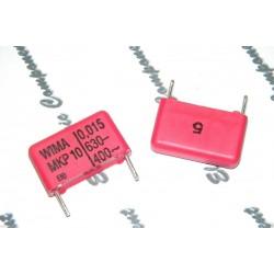 德國WIMA MKP10 0.015uF(15nF) 630V 5% 腳距:15mm 金屬膜電容